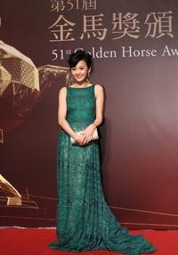 陈意涵身着SHIATZY CHEN出席金马奖红毯及颁奖礼