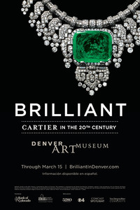 卡地亚20世纪珍宝艺术展于丹佛艺术博物馆开幕