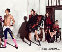 D&G 2015春夏广告大片释出 尽情演绎西班牙风情