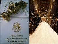 周董英国大婚 扒一扒那些价值不菲的婚礼行头