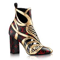 路易威登LV 2015春季新款 Monogram踝靴