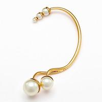 迪奥Dior 不对称珍珠耳饰