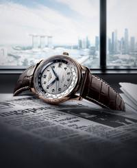 浪琴表推出名匠系列纪念限量腕表,庆祝新加坡建国50周年