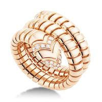 宝格丽 Serpenti系列蛇形戒指