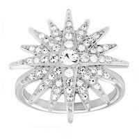 施华洛世奇Swarovski 水晶星星戒指