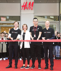 H&M台湾首间旗舰店正式开幕!