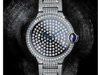 """卡地亚蓝气球""""舞动""""高级珠宝腕表,42毫米表款"""