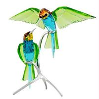 施华洛世奇 蜂虎鸟水晶摆件