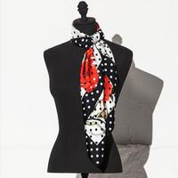 Dolce&Gabbana 印花斜纹真丝丝巾