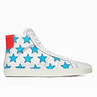 圣罗兰YSL新品 星星拼接中帮运动鞋