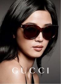 全智贤倾情演绎全新GUCCI眼镜系列广告大片