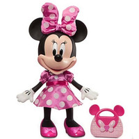 迪士尼会说话的粉色米妮