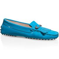 Tod's 女士亮面平底皮鞋