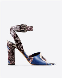 Valentino 2015春夏 Garavani 印花牛皮凉鞋
