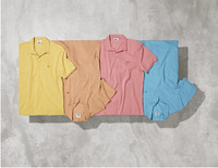 LACOSTE推出2015春夏水洗色POLO衫