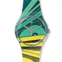 Swatch 彩色运动款手表
