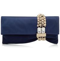 Jimmy Choo宝石手链麂皮手提包