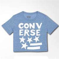 Converse 字母图形印花宽松短袖T恤