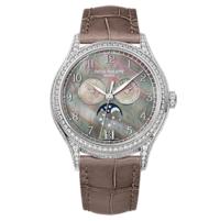 百达翡丽 复杂功能时计系列白金款式女士腕表