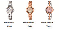卡西欧SHEEN发布简约系列全新型号SHE-4043