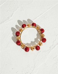 杜嘉班纳Dolce&Gabbana 红色球硬质手镯