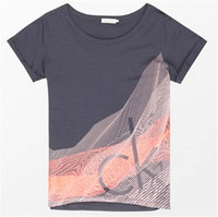 Calvin Klein 短袖圆领T恤