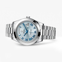 劳力士Rolex 星期日历型 II铂金腕表