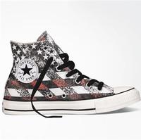 Converse 美国国旗风印花女鞋
