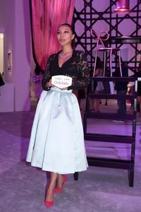 万宝宝亲临Miss Dior北京展览  对话首席调香师