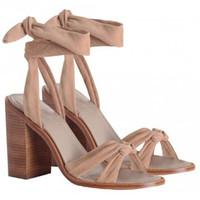 Zimmermann 蝴蝶结绑带粗跟鞋