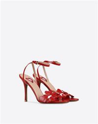 "VALENTINO GARAVANI ""L'AMOUR"" 山羊皮凉鞋"