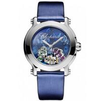 萧邦(Chopard)蓝鱼图案钻石女士手表