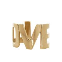 纪梵希Givenchy 淡金色金属LOVE护腕