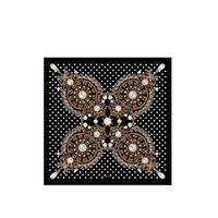 纪梵希Givenchy 琥珀珠宝印花围巾