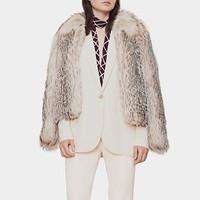 古驰Gucci 哑光丝缎夹克