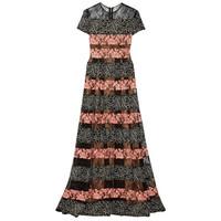 Elie Saab 刺绣绢网和蕾丝礼服