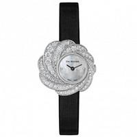 戴比尔斯 镶钻花朵造型手表