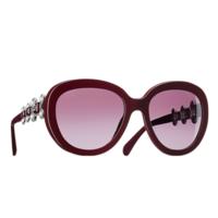 香奈儿Chanel 椭圆形树脂太阳眼镜
