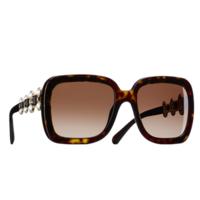 香奈儿Chanel 方形树脂太阳眼镜