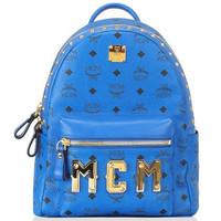 MCM Logo印花双肩包