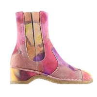 香奈儿Chanel 印花麂皮效果小牛皮短靴