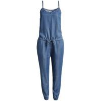 Esprit 时尚吊带牛仔款连体长裤