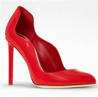 迪奥Dior 红色漆皮高跟鞋