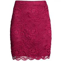 H&M 蕾丝半身短裙