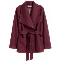 H&M 羊毛混纺外套