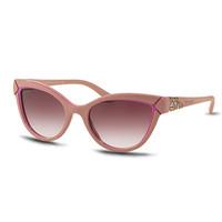 宝格丽Bvlgari 粉色猫眼形太阳眼镜