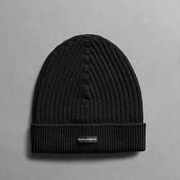 杜嘉班纳 黑色羊绒帽子