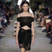 纪梵希Givenchy 两侧带有金属环的乱花平纹抹胸