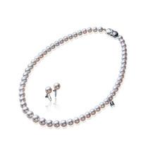 御木本Mikimoto 纯银珍珠项链