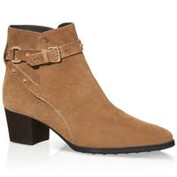 Tod's 女士小山羊皮踝靴